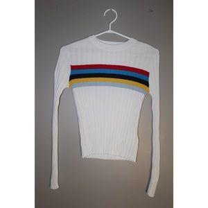 Long Sleeved Ribbed FOREVER 21 Shirt